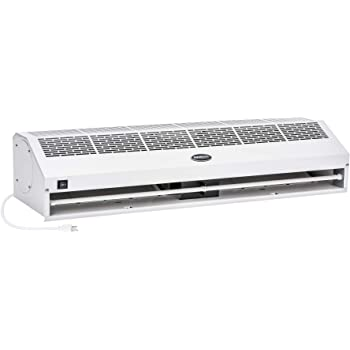 Amazon Com Awoco 72 Elegant 2 Speeds 1800 Cfm Indoor Air Curtain With An Easy Install Magnetic Door Switch Ce Certified Home Kitchen
