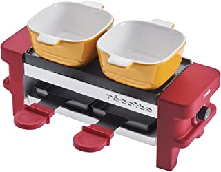 """recolte""""Raclette & Fondue Maker Melt"""" (Red) RRF-1(R)【Japan Domestic Genuine Products】【Ships from Japan】"""