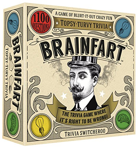 Brainfart - Gioco di carte Topsy-Turvy Trivia 21344