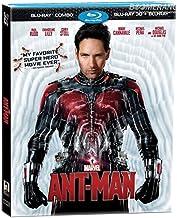 Marvel's Ant-Man (Blu-ray 3D + Blu-ray 2D, Region A, Peyton Reed) Paul Rudd, Michael Douglas, Corey Stoll
