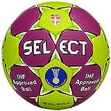 SELECT Solera Ballon de Handball 1 Violet - Lila/Grün
