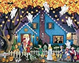 DSKIN 1000 Piece Jigsaw Puzzle for Adults Entertainment Wooden Puzzles Toys-Gathering Halloween Modern Home Decor Festival Gift...