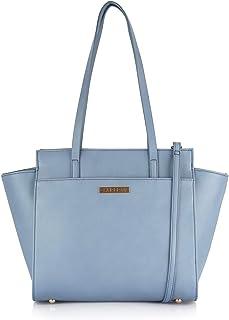 Caprese Natalya Women's Tote Bag (Bluish Grey)
