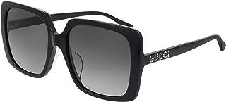 Gucci Lunettes de Soleil GG0728SA Black/Grey Shaded 57/18/145 femme