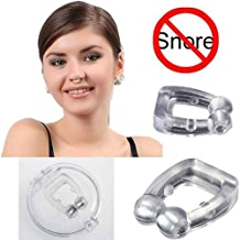Zamkar Trades Silicone Magnetic Anti Snore device for men Nose Clip Sleeping, Snore Stopper, Anti Snoring Device For Men, Anti Snoring Device For Women, Snore Clip For women, Nose Clips For Snoring