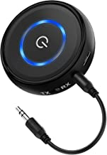 HiGoing AUX Bluetooth 4.1 Audio Adapter 2-in-1 Transmitter/Receiver with A2DP/ AVRCP/ 14 Hours Playtime