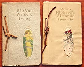 Rip Van Winkle & Poor Richard's Almanac Selections in Leather Tie Binding [2 Volume Set]