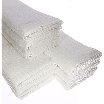 Damilo 9X - Paño de cocina (100% algodón, piqué, en blanco ...