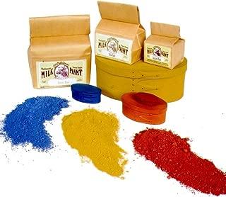 Old Fashioned Milk Paint Non-VOC Powder Paint (Gallon, Pitch Black)