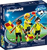 Playmobil Team Arbitri Set di Figurine, Multicolore, 70246