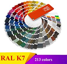 RAL K7 Colour Card Fan Deck Standard Colour Matching Tools 2018 Edition with Security Label (K7)