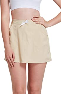alvon Womens Casual Outdoor Home Active Skorts Skirted Shorts