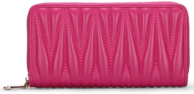 HMILY Sheepskin Women's Handbag Casual Fashion Clutch Dinner Bag Handbag H6863