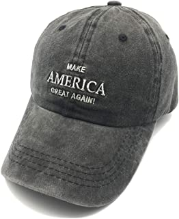 Embroidered Unisex Make America Great Again Denim Dad Hats MAGA Adjustable Baseball Cap