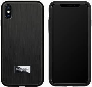 Magnum Titanium Case for iPhone Xs Max 6.5'' (Solid Titanium Black)