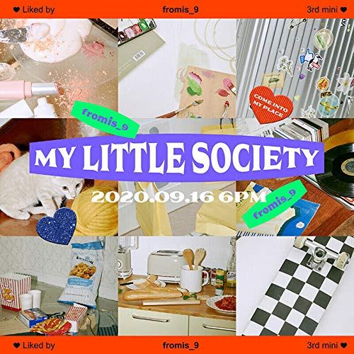 FROMIS_9 [MY LITTLE SOCIETY] 3rd Mini Album [MY ACCOUNT / MY SOCIETY]...