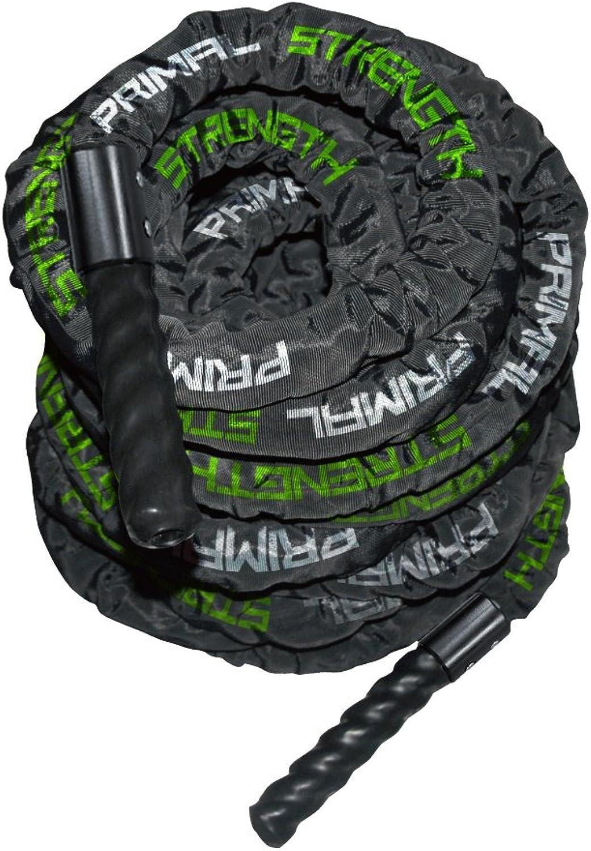 Primal Strength Stealth kommerziellen Fitness schwarz glnzend Leinwand Battle Rope