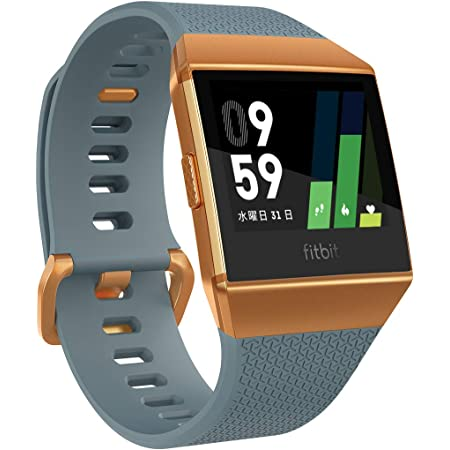 [GPS搭載]Fitbit Ionic スマートウォッチ Slate Blue/Burnt Orange L/Sサイズ FB503CPBU-CJK