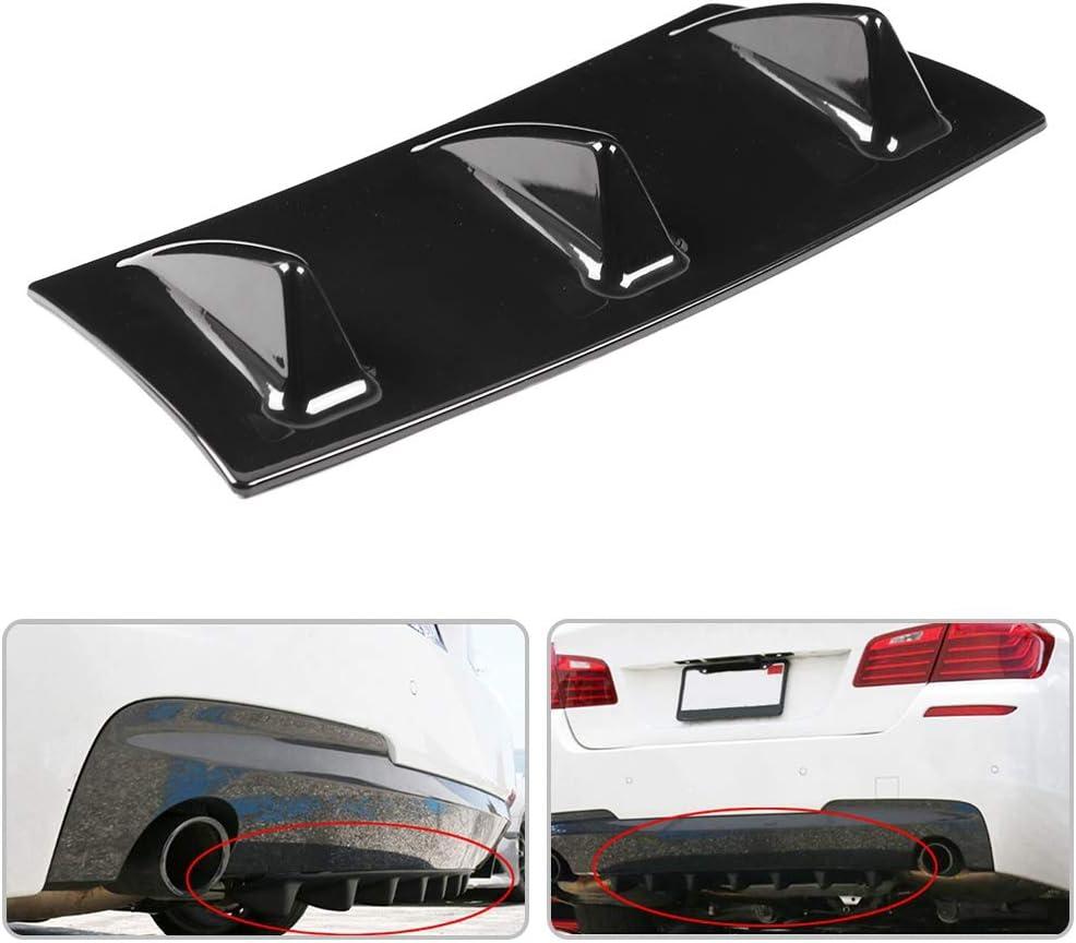 Shark Manufacturer direct delivery Fin Diffuser Qiilu Car Award Ch Bumper Rear
