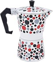 6 Koppar-applikationsmönster åttkantig Form Applique Aluminium Kaffekanna Åttkantig Kaffekanna Åttkantig Mockakanna Moka K...