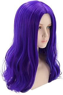 purple wig costume halloween