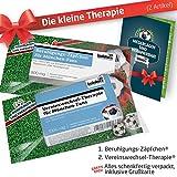 Die Kleine Therapie für München-Fans   2X süße Saison-Schmerzmittel   Witzige Geschenke & Fanartikel by Ligakakao.de   Besser als Kaffee-Tasse, Kaffeepott, Becher oder Fahne