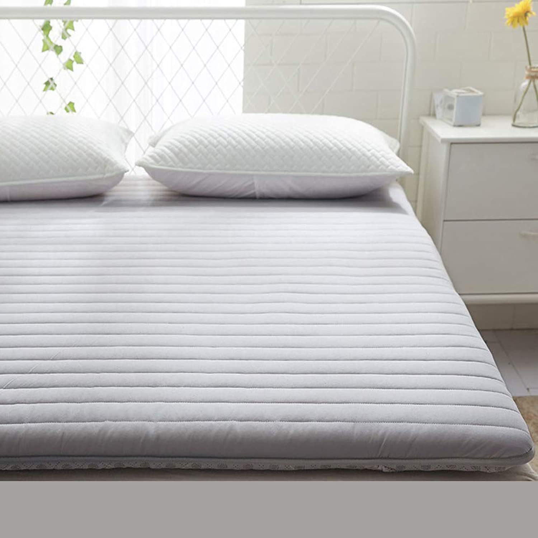100% Cotton Folding Tatami Mattress, Thickened Dampproof Mattress Topper Ground Floor Sleeping pad-F 120x200cm(47x79inch)