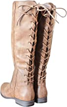 vintage lace up riding boots