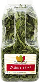 Dried curry leaves (Kari) l 100% Kosher indian spices l Great for Ayurvedic medicine l 1.5 ounces l
