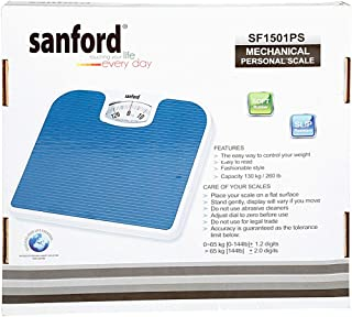 Sanford SF1501PS Mechanical Personal Scale, Blue