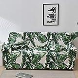 ASCV Funda de sofá Europea con Estampado Floral Fundas de sofá para Sala de Estar Sofá Toalla Funda para Muebles Sillón Funda para sofá A4 1 Plaza