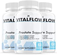 (3 Pack) Vitalflow Prostate Supplement, Vitalflow Prostate Pills, Hair Loss, DHT Blocker - Vital Flow Supports Those with ...