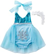 belababy Baby and Toddler Girls Costume, Mermaid/Elsa/Anna Princess Cosplay Outfit