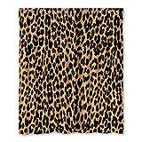 Personal Custom Brauch leopardenmuster Wasserdicht Polyester Shower Curtain Duschvorhang 152cm x 183cm