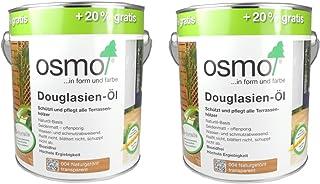 Osmo Spar-Set 2x Douglasien-Öl 004, 3l, schützendes Terrassenöl
