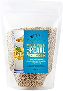 Chef's Choice Israeli Pearl Whole Wheat Couscous 500 g