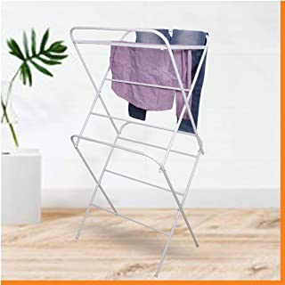 Magna Homewares Stella Heavy Duty Steel Royal White Foldable Cloth Drying Stand/Clothes Dryer Stands/Laundry Racks/Cloth d...
