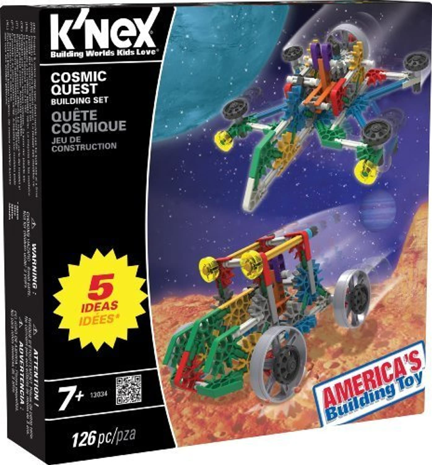 K'nex Cosmic Quest Building Set by K'Nex