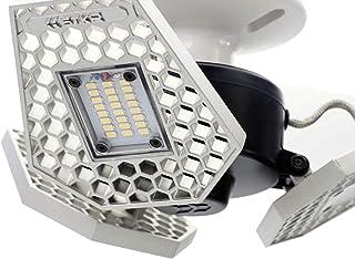 Striker outils à main Trilight 3000Lumens détecteur de mouvement Aluminium Plafonnier pour garage/grenier/combles/sous-so...