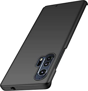 Anccer Compatible with Moto Edge Plus Case [Colorful Series] [Ultra Thin] Hard Slim Cover for Moto Edge Plus (Black)