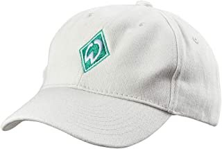 Werder Bremen SV Cap Kappe Raute hellgrau