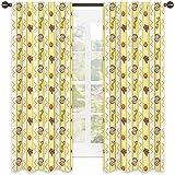 Perlas cortina aislada sombreado, bordes verticales con animales de acuario, caballito de mar exótico, concha de mar y corales zigzag, pantalla insonorizada, 100 x 150 cm, multicolor
