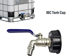 IBC Tank Adapter MASO IBC TOTE TANK DRAIN ADAPTER S60X6 To Brass Garden Tap With 3/4