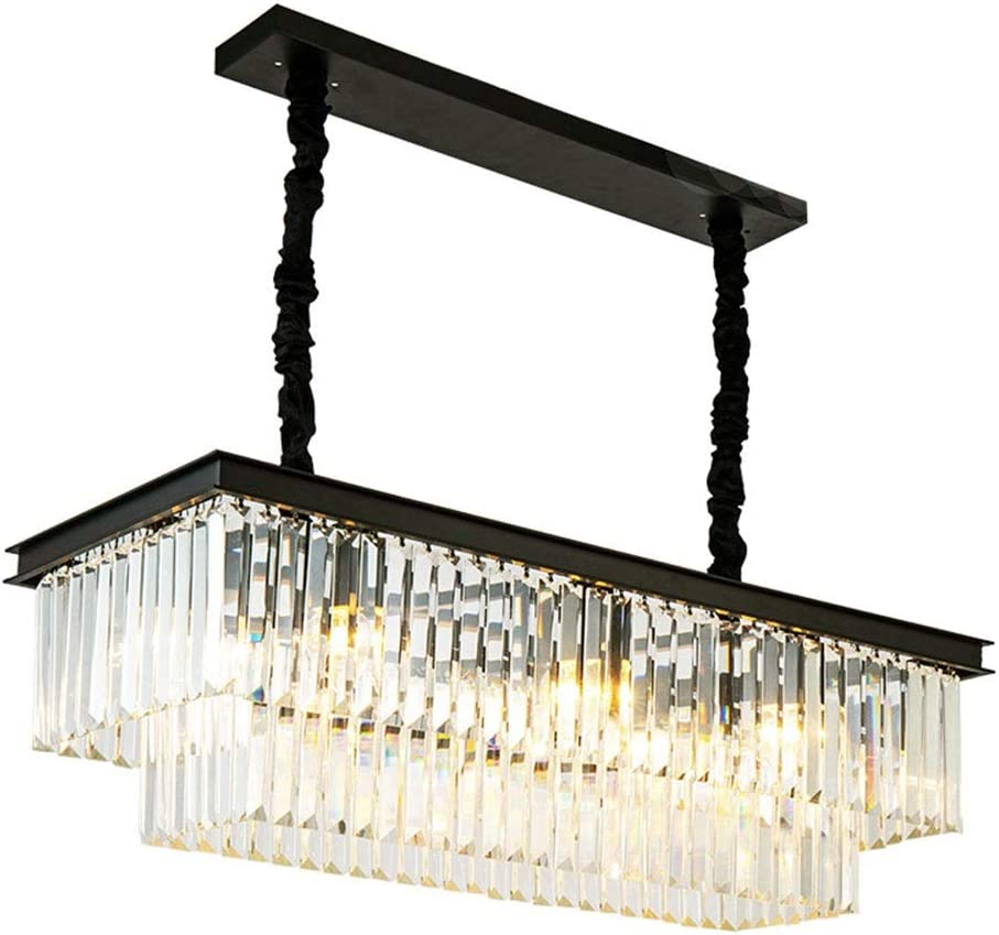 Reegang Dealing full price reduction Crystal Chandelier Creative Two-Light Simple Personality safety