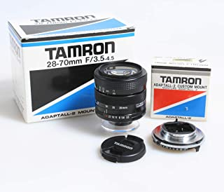 TAMRON ADAPTALL-2 28-70MM F 3.5-4.5 Macro Zoom New in Box W//MINOLTA MD Adapter