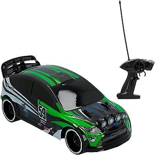 ColorBaby- Coche radiocontrol Rally de Speed&Go Escala 1:16 Ver, Color Verde (85351)