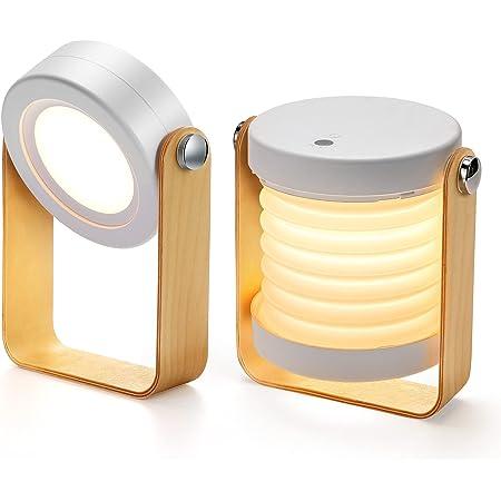 Bromose Lampe de chevet Dimmable Touch Light, Lampes de chevet portables pour lampe de chevet avec table de nuit portable Safe Night Light