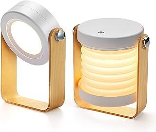 Bromose Lampe de chevet Dimmable Touch Light, Lampes de chevet portables pour lampe de chevet avec table de nuit portable ...