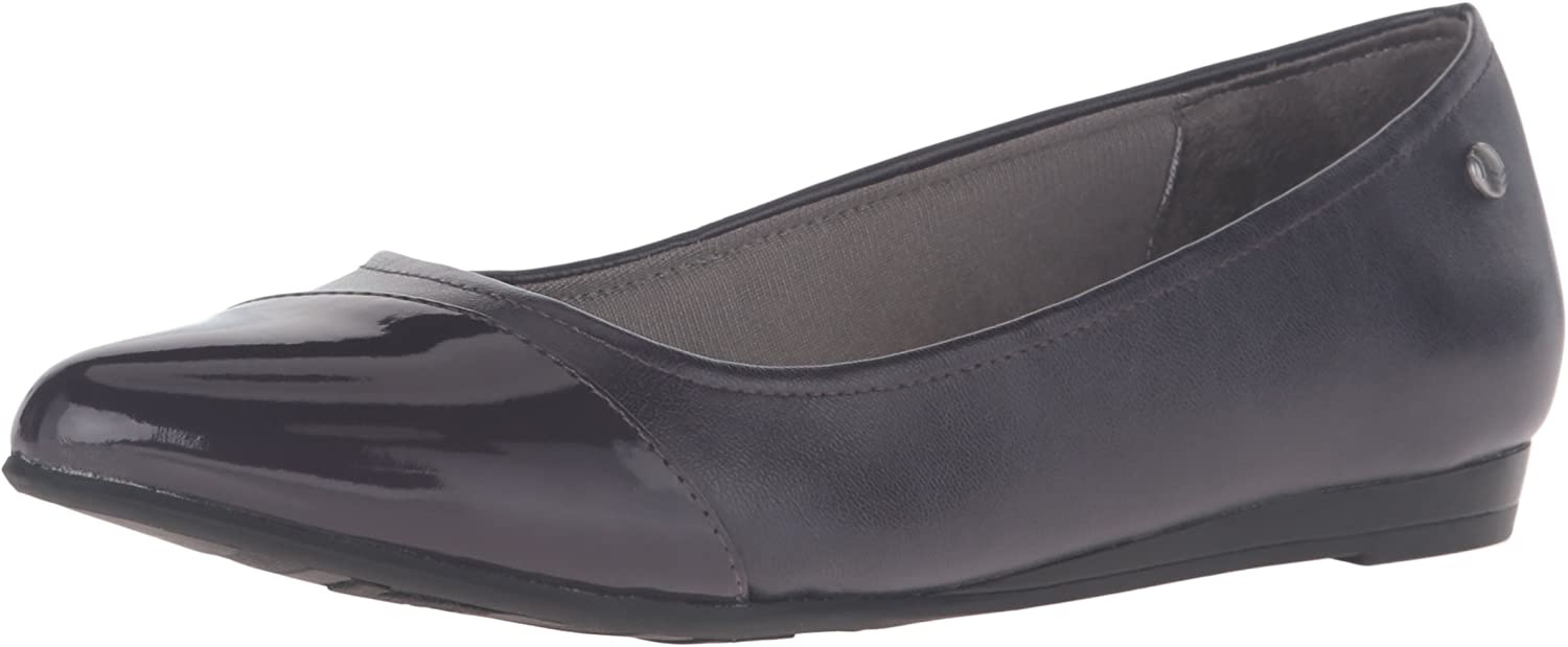 LifeStride Women's Quilma Pointed Toe Flat