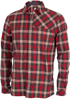 Club Ride Apparel Shaka Flannel Long Sleeve - Men's Snap Down Cycling Top